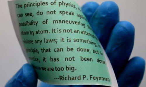 Ученые разработали многоразовую нанобумагу