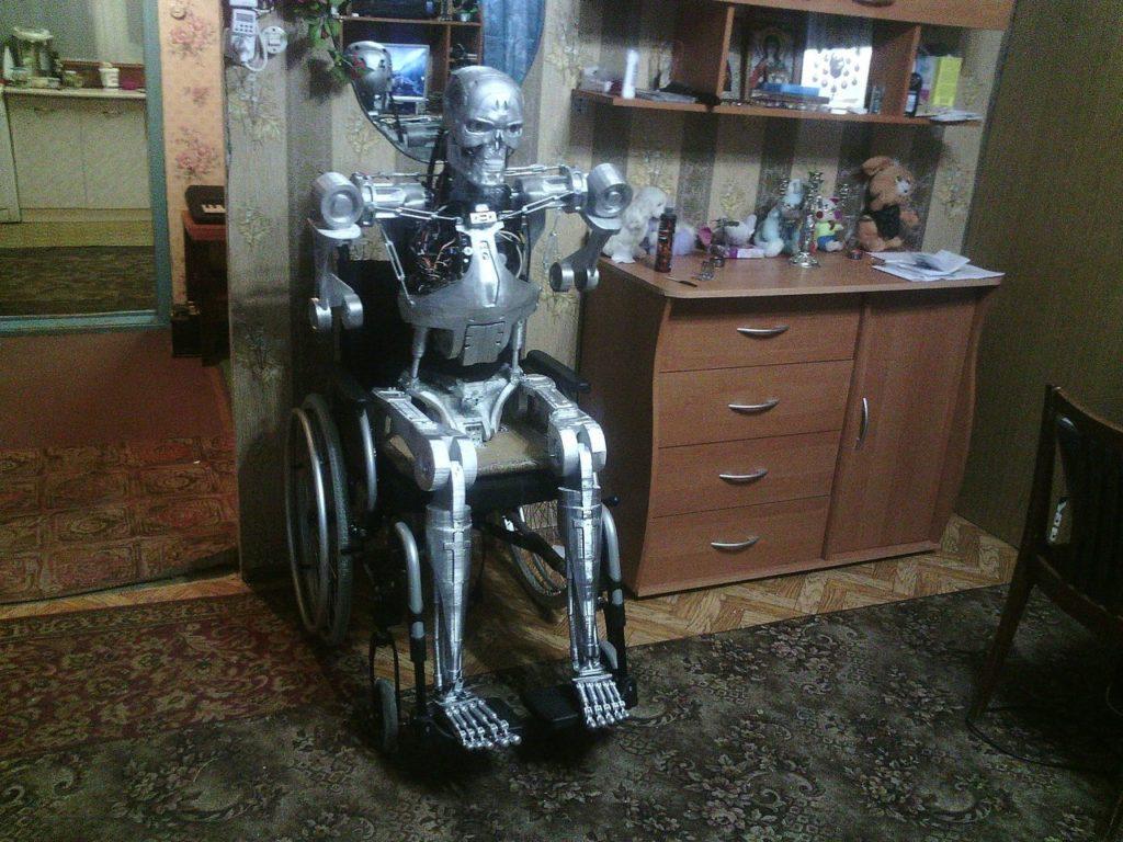 Житель Перми создал Терминатора